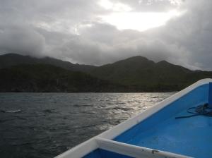 Boat from La Isla to tierra firme.