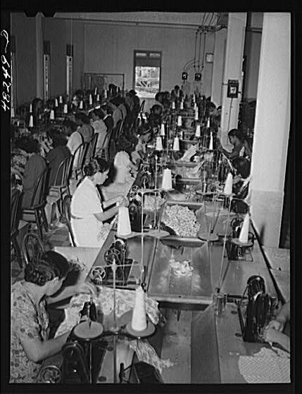delano women sewing